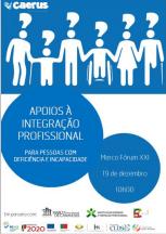 Caerus promove Sessão de Esclarecimento sobre apoios à integração profissional