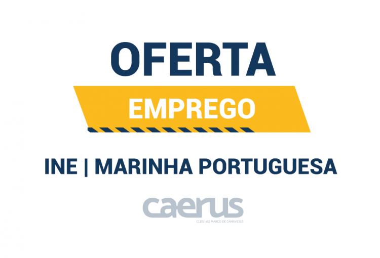 Ofertas de Emprego – INE e Marinha Portuguesa